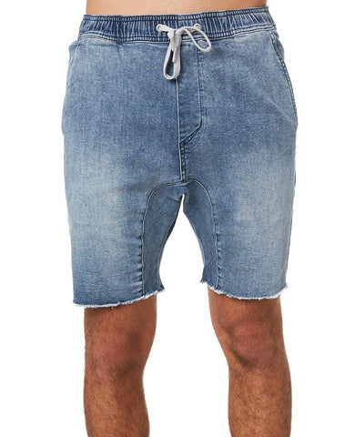 Sureshot Short Dark Blue Denim