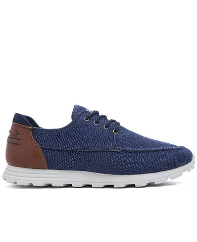 DESMOND EVA Deep Navy Canvas