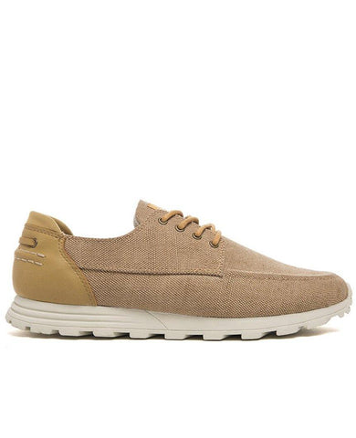 DESMOND EVA Tan Hemp Canvas