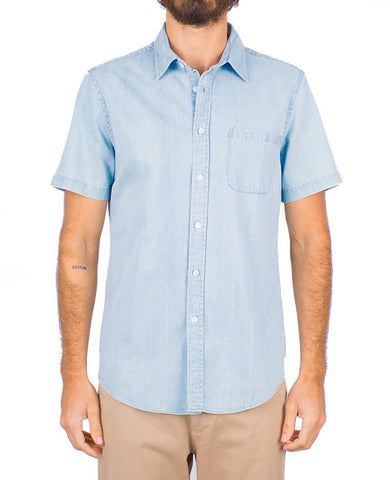 Ganga 3W Denim Short Sleeve Buttondown Shirt