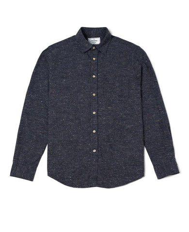 Gross Blue Long Sleeve Buttondown Shirt