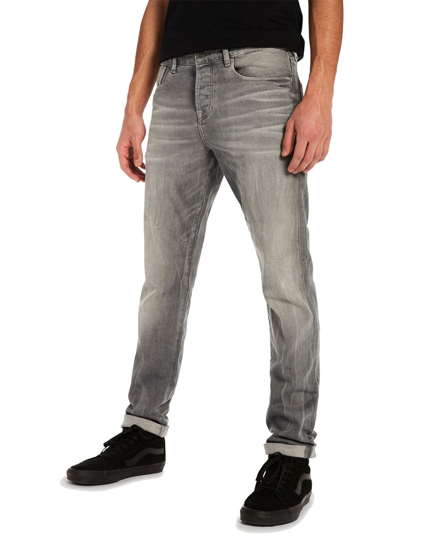 Ralston Stone And Sand Regular Slim Fit Cement