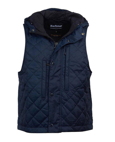 Barbour X Engineered Garments Field Vest Navy