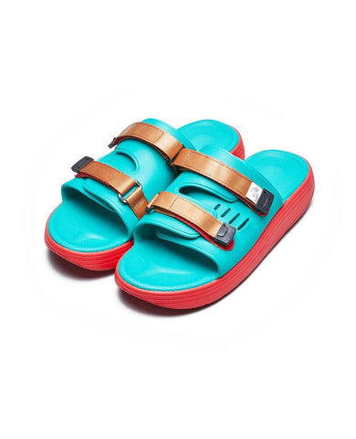 URICH Sandals Green Red