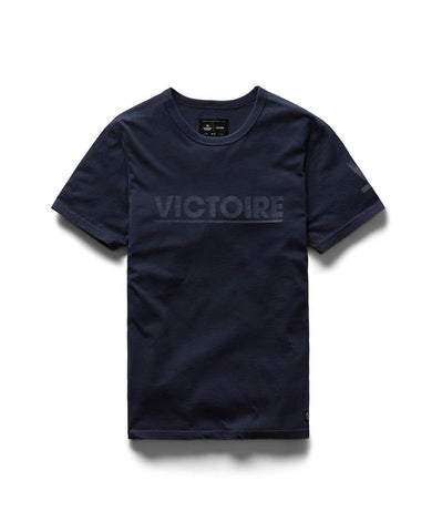 Victory Victoire Pima Jersey Navy