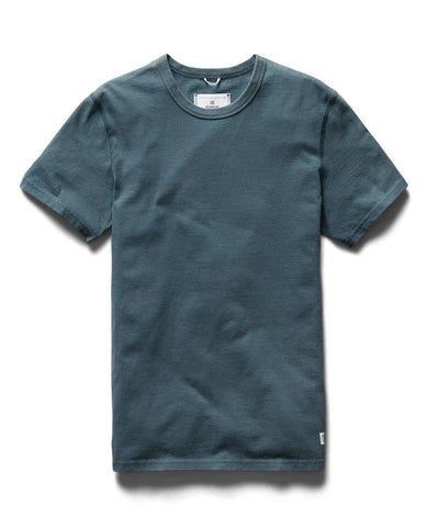 Sanded Jersey T-shirt Pacific