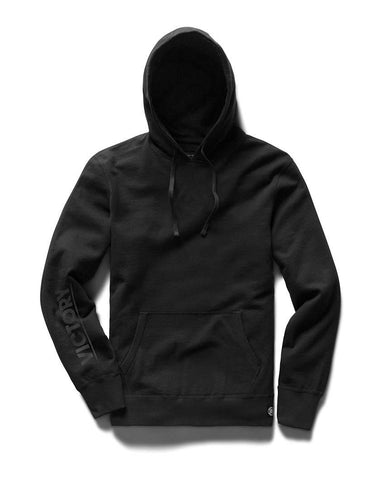 Victory Journal Masterhead Mid Weight Terry Pullover Hoodie Black