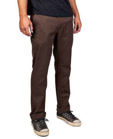 Reserve Standard Fit Chino Pant Brown