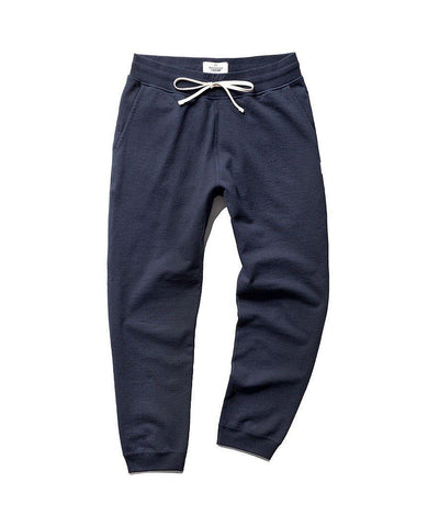Slim Sweatpant Midweight Terry Navy