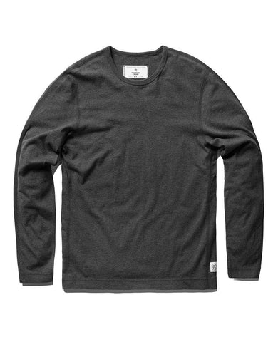 Long Sleeve Tee Heather Charcoal