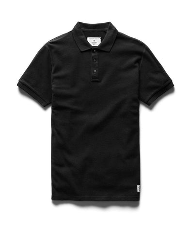 Polo Athletic Pique Black