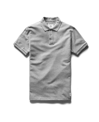 Polo  Athletic Pique T-Shirt Heather Grey