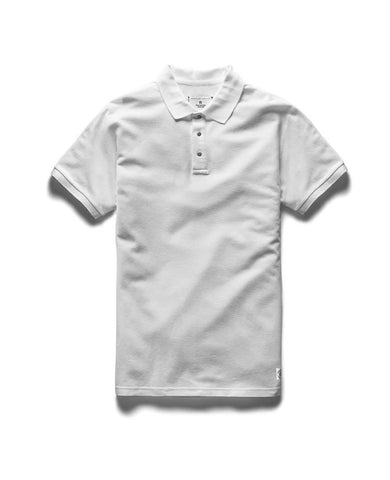 Polo Athletic Pique T-Shirt White