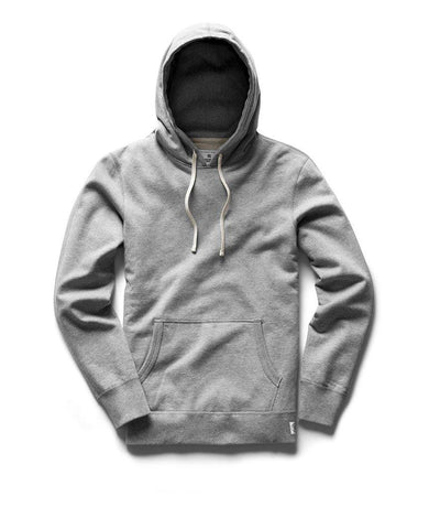 Pullover Hoodie Midweight Terry Heather Grey