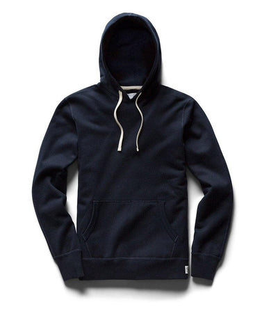 Pullover Hoodie Midweight Terry Navy