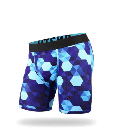 Hive Pacific Blue  Entourage Boxer Brief