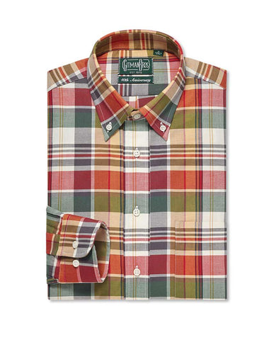 Button Down Sport Rustic Kashmyl Plaid