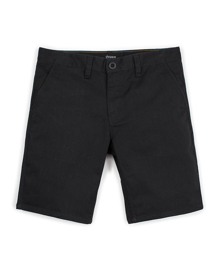 Toil II Hemmed Short Black