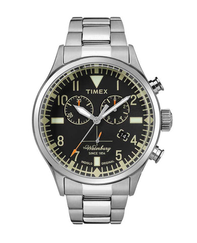 Waterbury Traditional Chronograph 42mm Stainless Steel