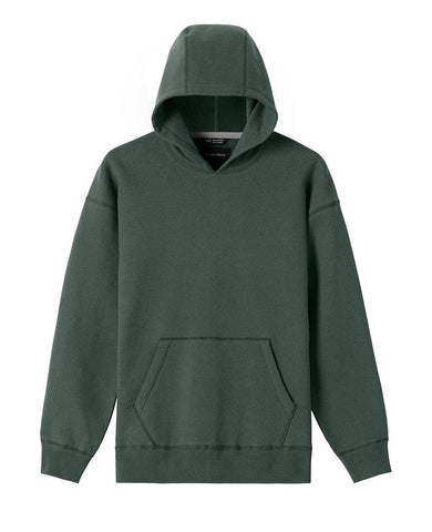 Relaxed Fleece Hooded Pullover Pine