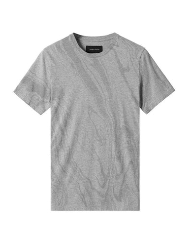 Vertical Dye T-Shirt Heather Grey
