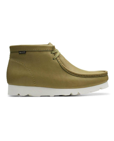 Wallabee Boot Gore-Tex Khaki Leather