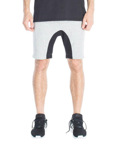 Slapshot Zip Short Grey Marle Black