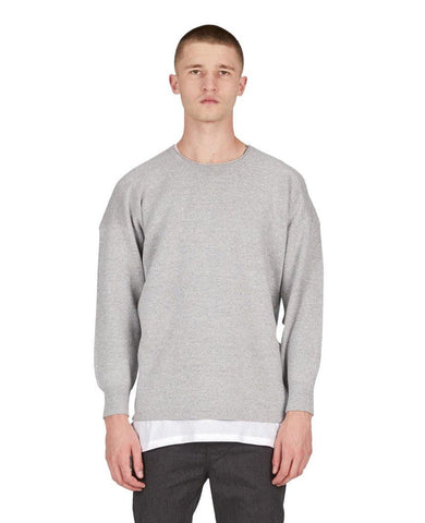 Cotch Knit Sweater Grey Marle