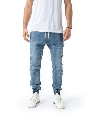 Sureshot Denim Jogger Dark Blue
