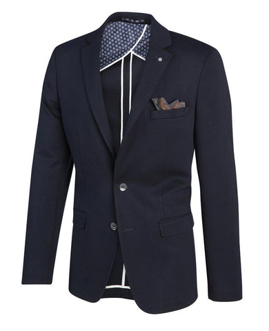 Navy Colbert Jacket