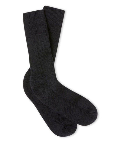 Wool Boot Socks Navy