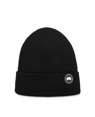Lightweight Merino Watch Cap Black