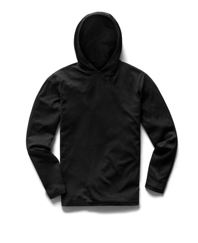 Solotex Mesh Pullover Hoodie Heather Black