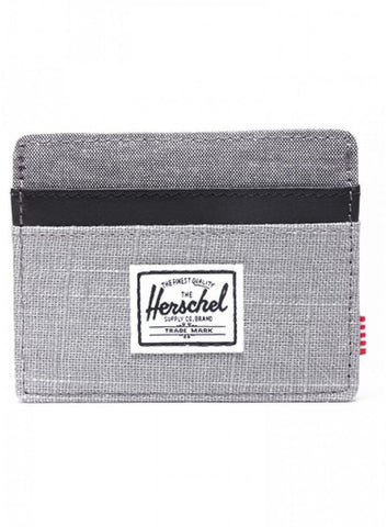 Charlie Wallet Grey and Black