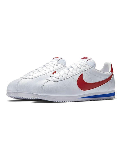 Cortez Basic Leather OG White/Varsity Red