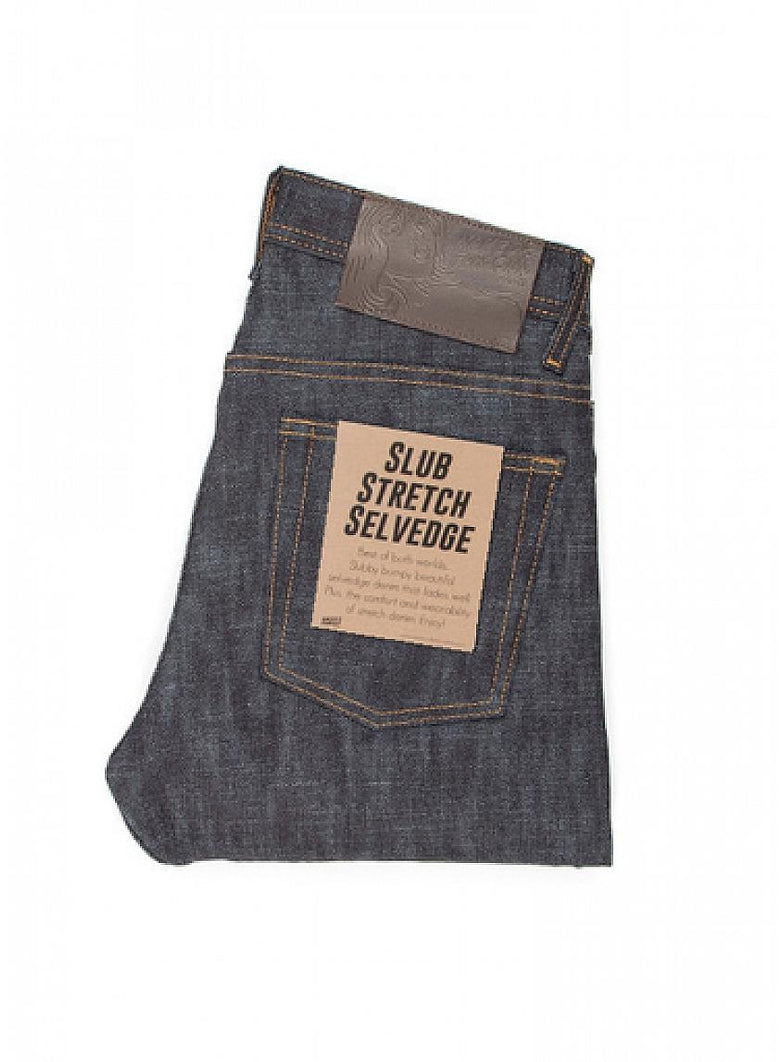 Slub Stretch Selvedge Skinny Guy Denim