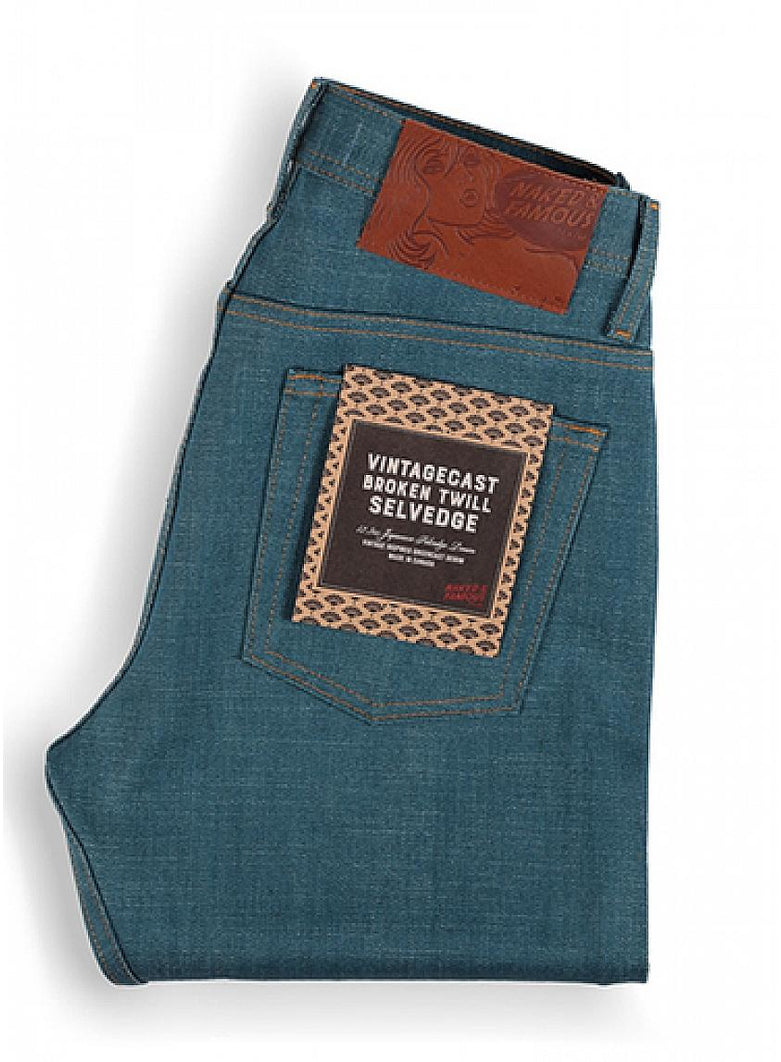 Vintagecast Broken Twill Selvedge Weird Guy - Light Blue