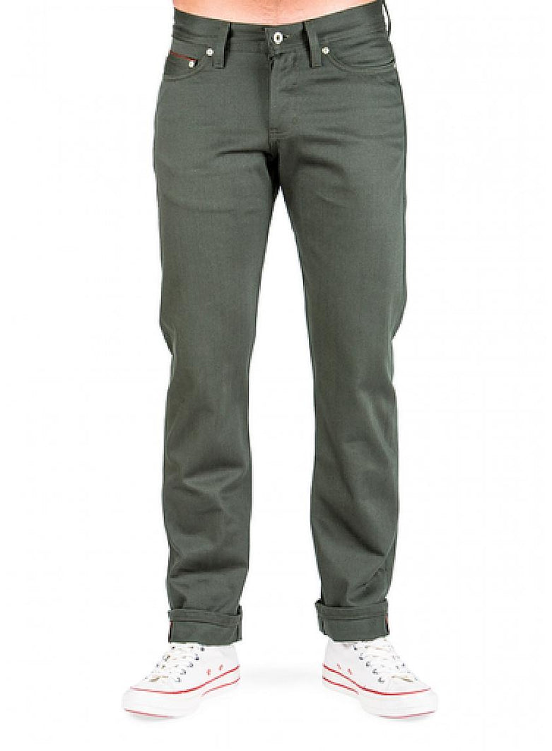 Forest Selvedge Chino Pants