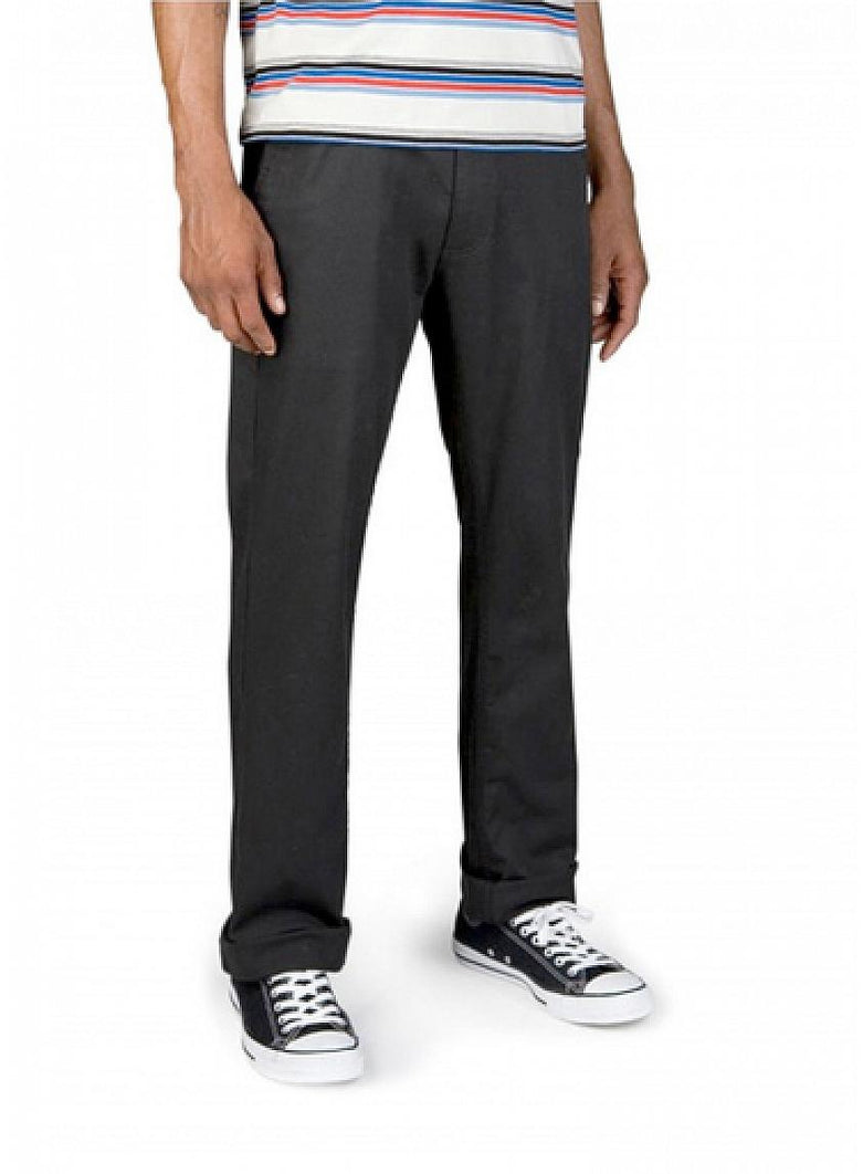 Grain Slim Fit 5-Pocket Pant Black