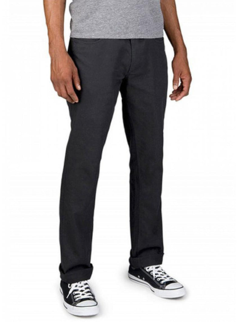 Reserve Standard Fit 5-Pocket Black Pant