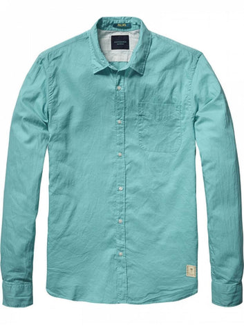 Light Weight Oxford Buttondown Mint Green