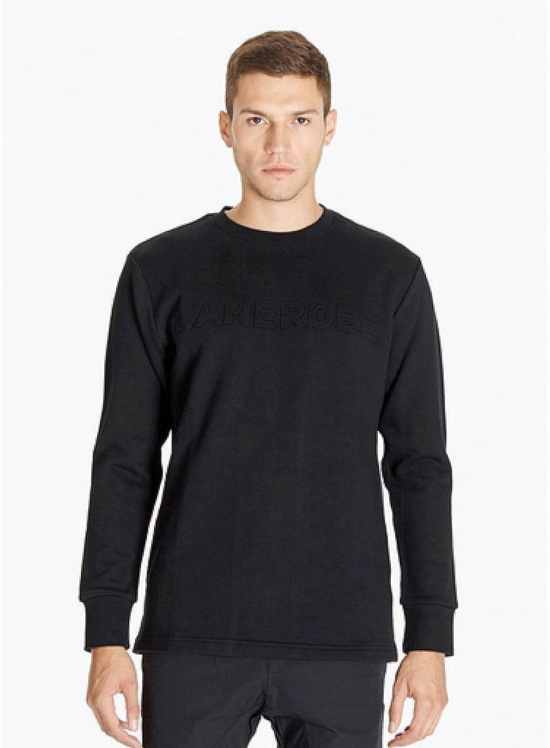Sculpt Crewneck Sweatshirt Black