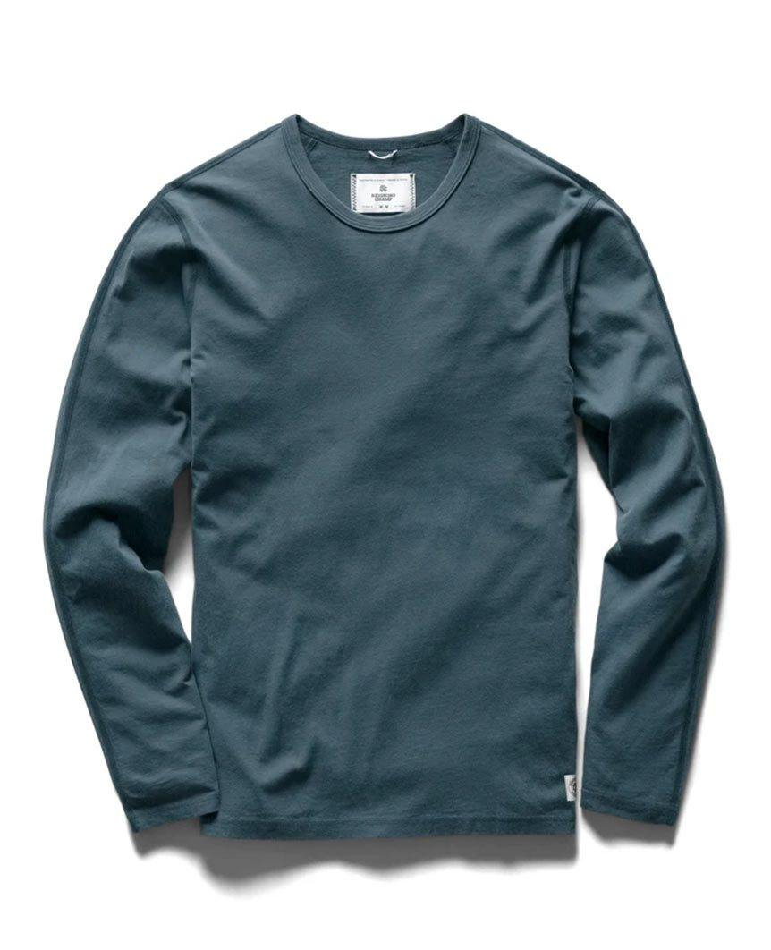 Sanded Jersey Long Sleeve Pacific