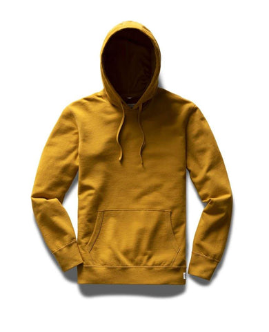 Lightweight Terry Pullover Hoodie Medallion