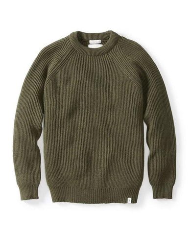 Ford Crew Sweater Olive