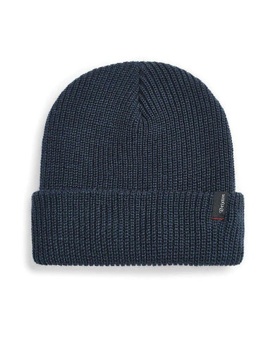 Heist Beanie Washed Navy