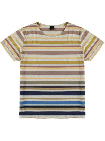 Striped T-Shirt  Natural Blue