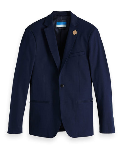 Indigo Blazer Slim Fit