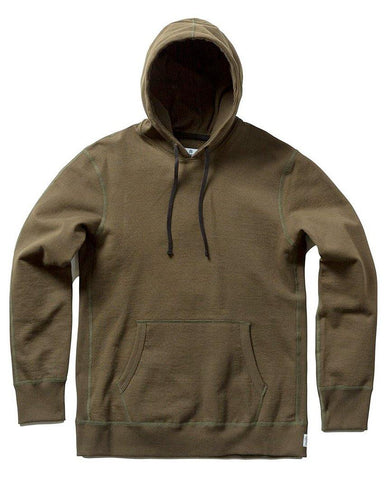 Pullover Hoodie Heavyweight Terry Olive