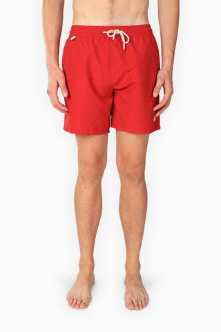 SEAL Solid Swimmer Short Red